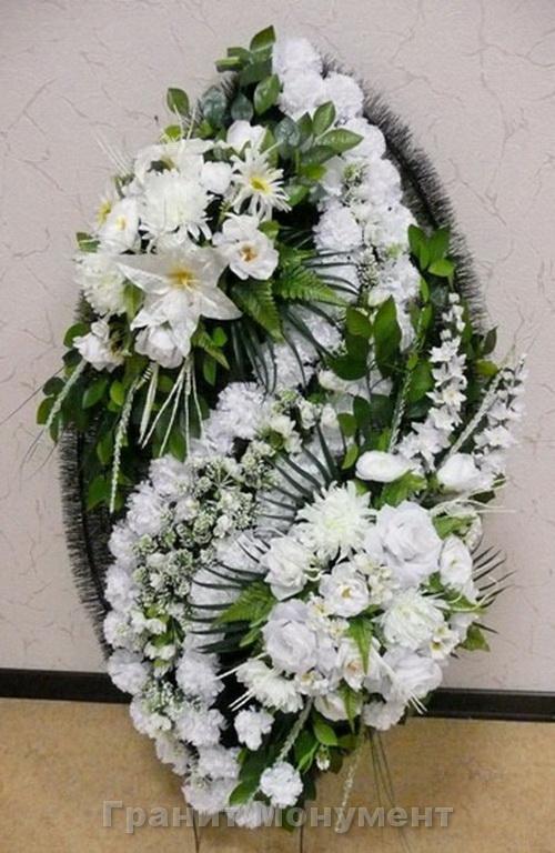 Ритуальные цветы своими руками